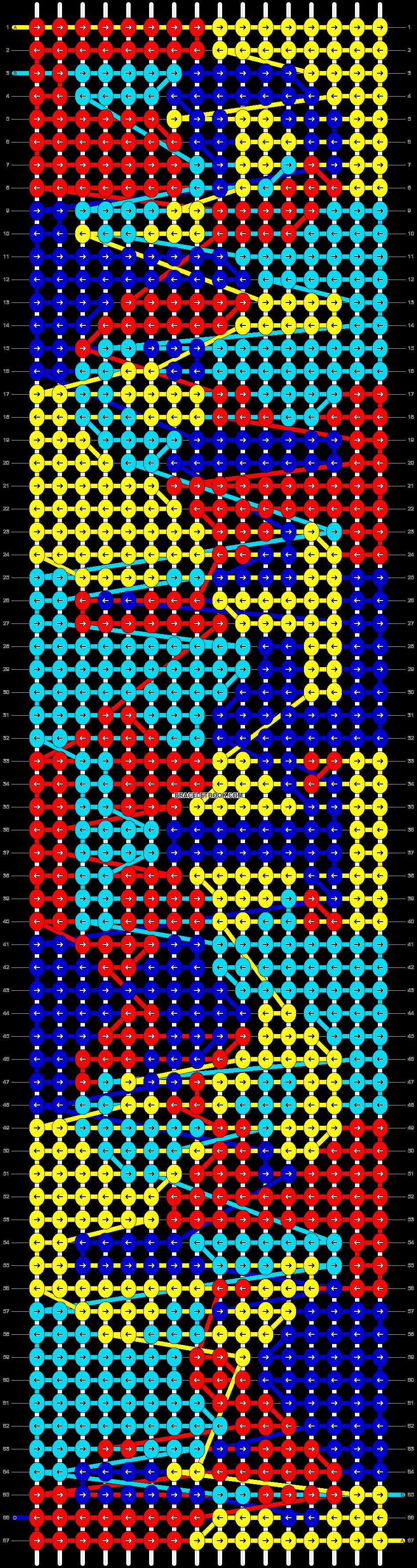 Alpha pattern #5483 pattern