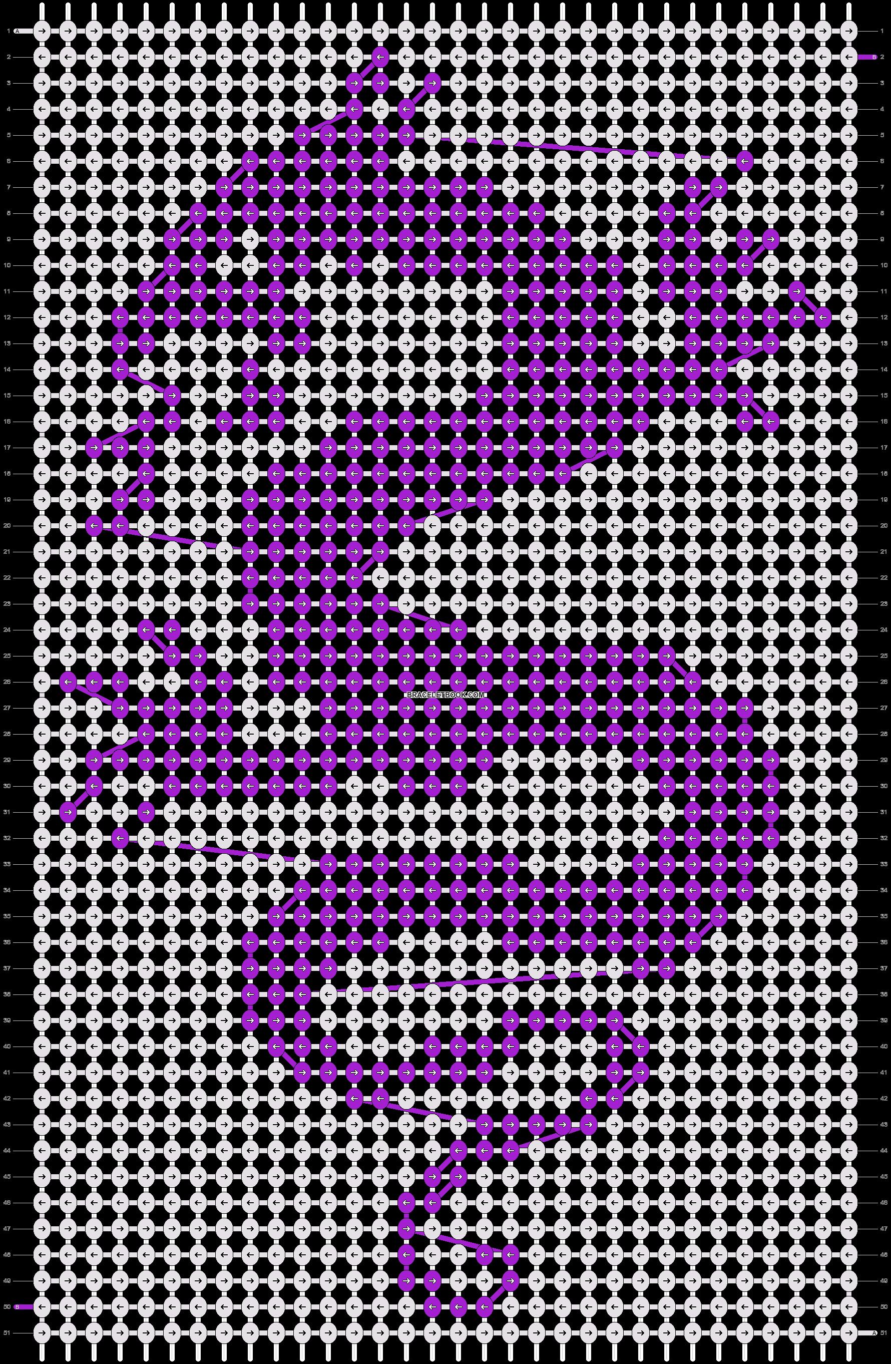Alpha pattern #5484 pattern