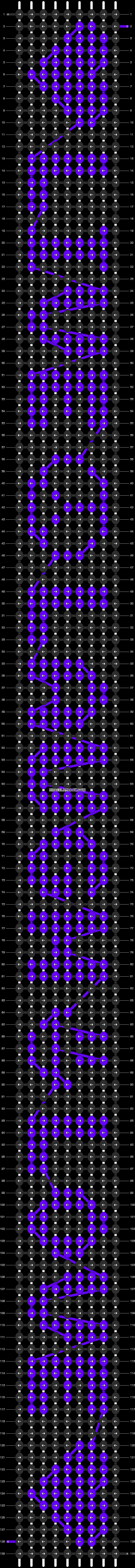 Alpha pattern #5485 pattern