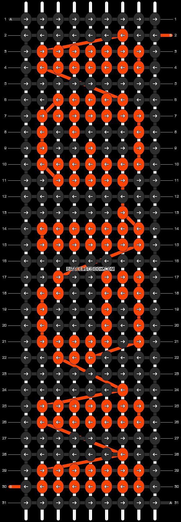 Alpha pattern #5491 pattern