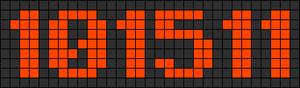 Alpha pattern #5491