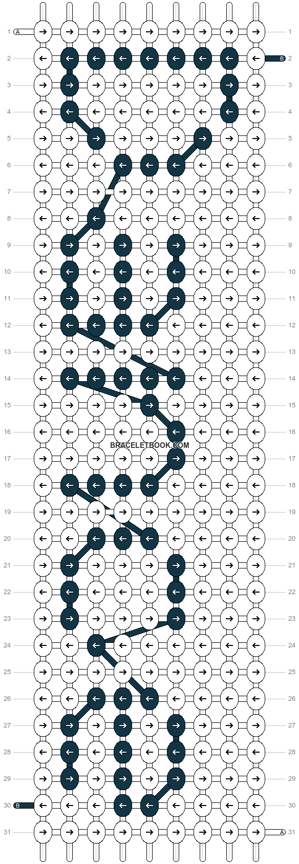 Alpha pattern #5493 pattern