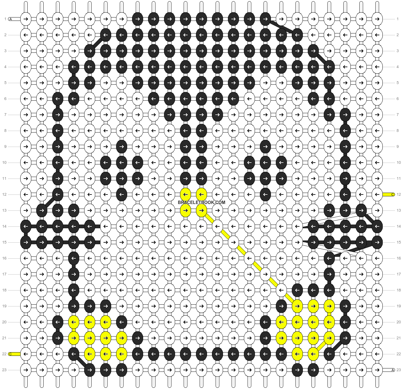 Alpha pattern #5495 pattern
