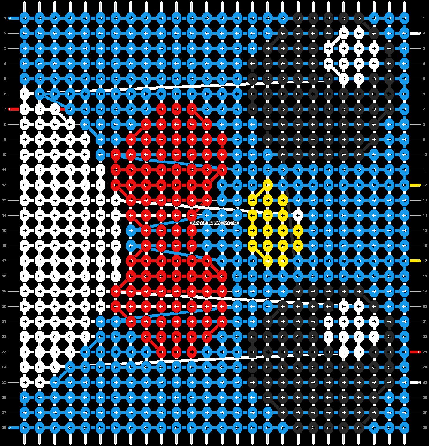 Alpha pattern #5498 pattern