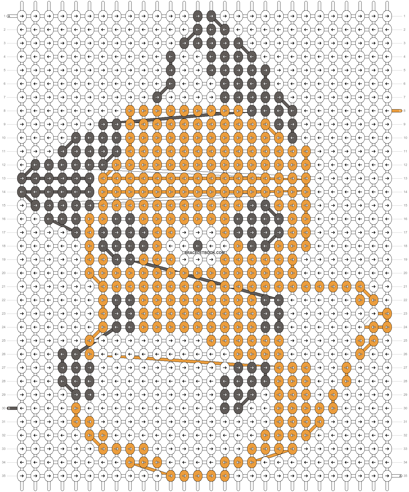 Alpha pattern #5515 pattern