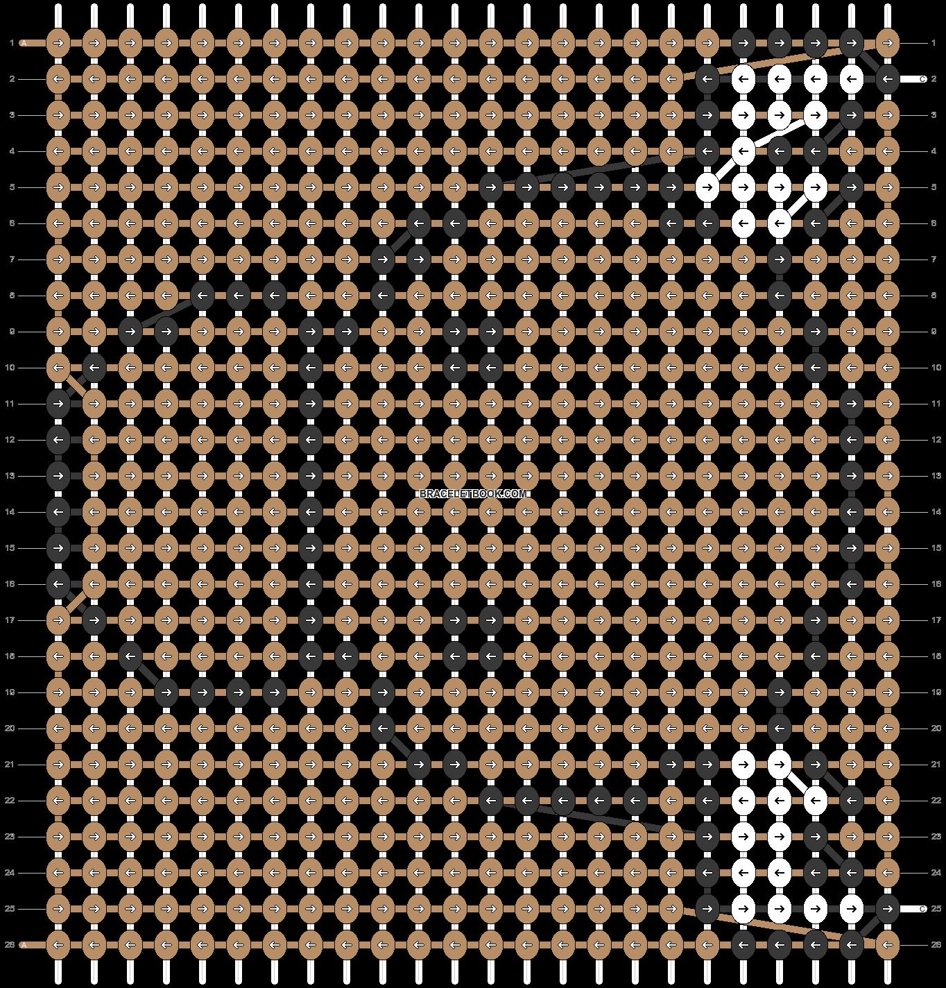 Alpha pattern #5523 pattern