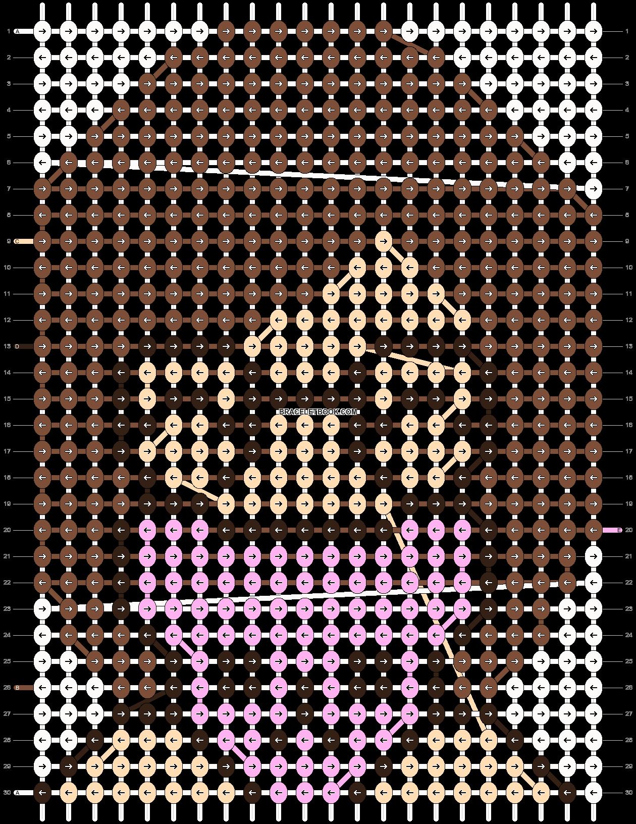 Alpha pattern #5525 pattern