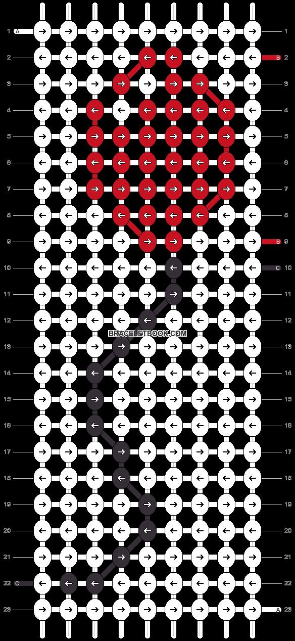 Alpha pattern #5528 pattern