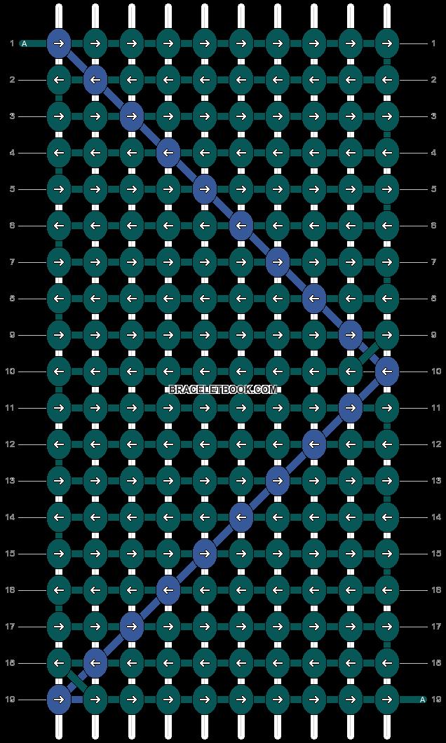 Alpha pattern #5530 pattern