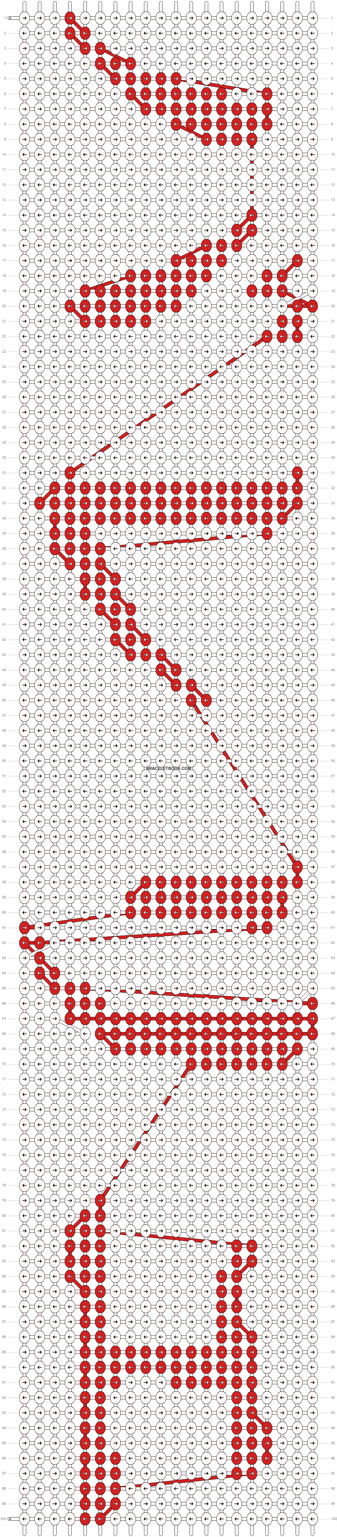 Alpha pattern #5533 pattern