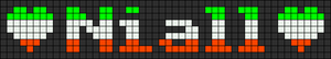 Alpha Friendship Bracelet Pattern #5539