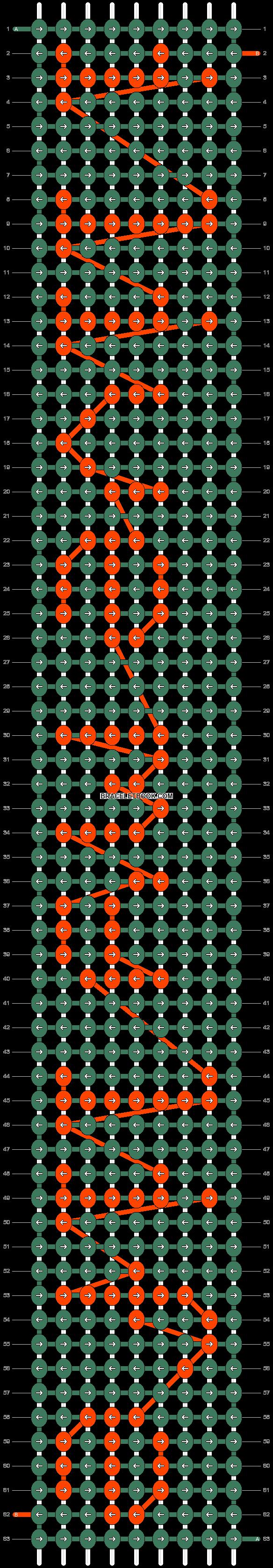 Alpha pattern #5545 pattern