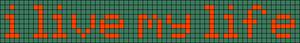 Alpha pattern #5545