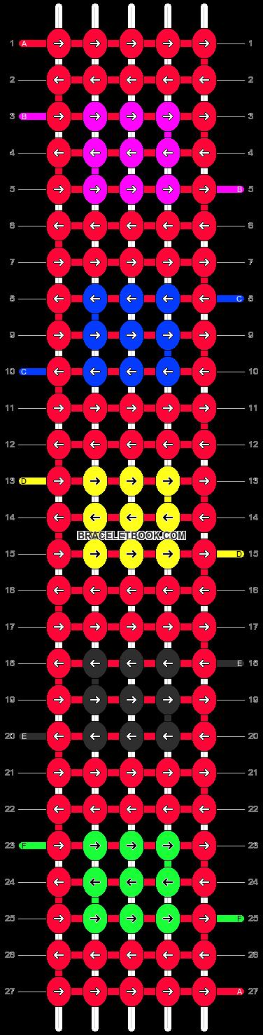 Alpha pattern #5546 pattern