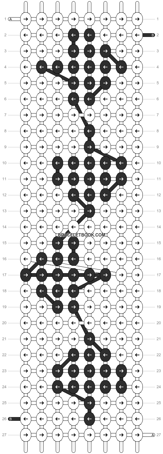 Alpha pattern #5547 pattern