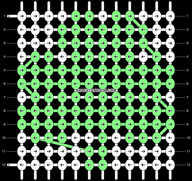 Alpha pattern #5549 pattern