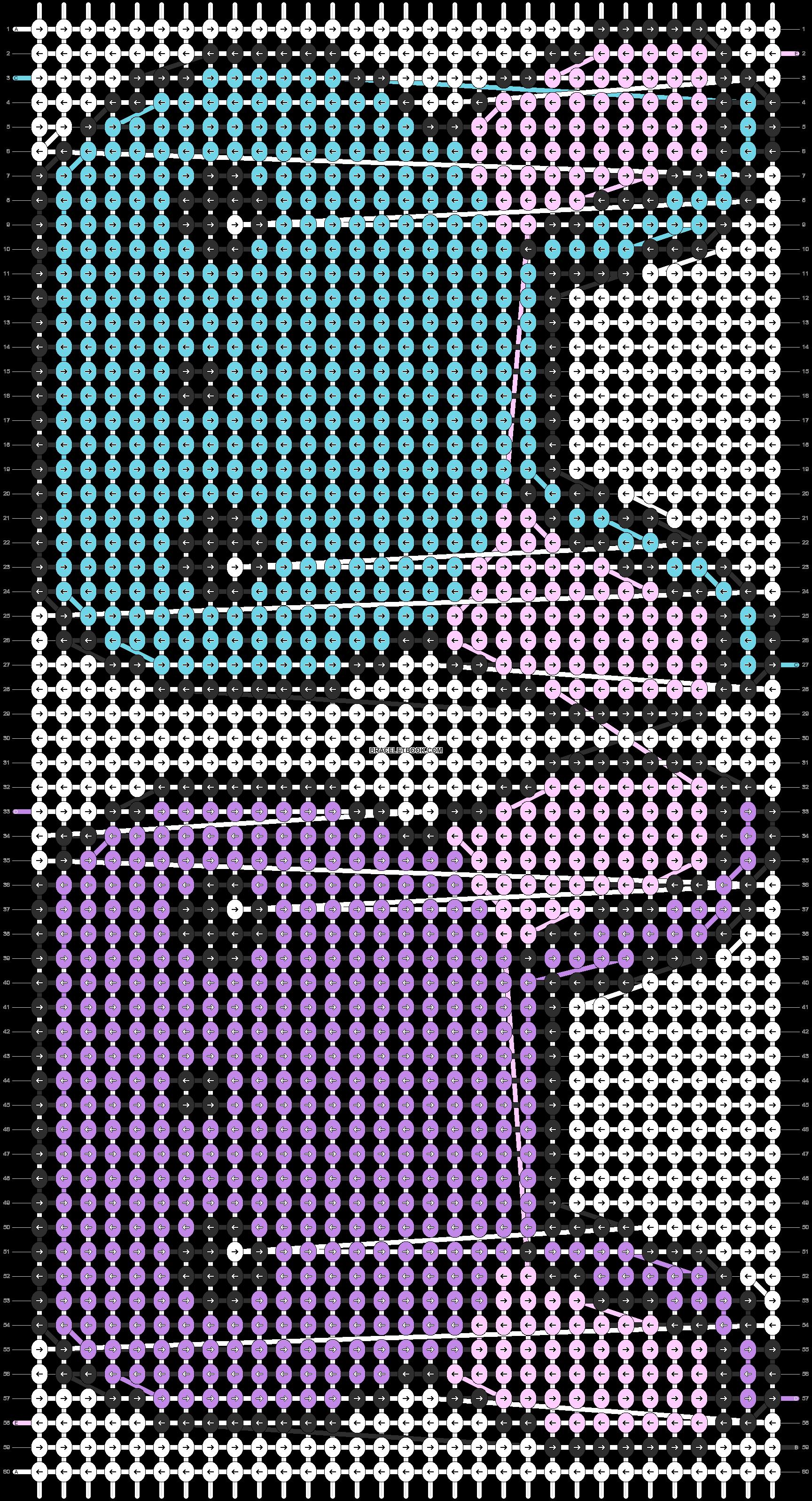 Alpha pattern #5552 pattern