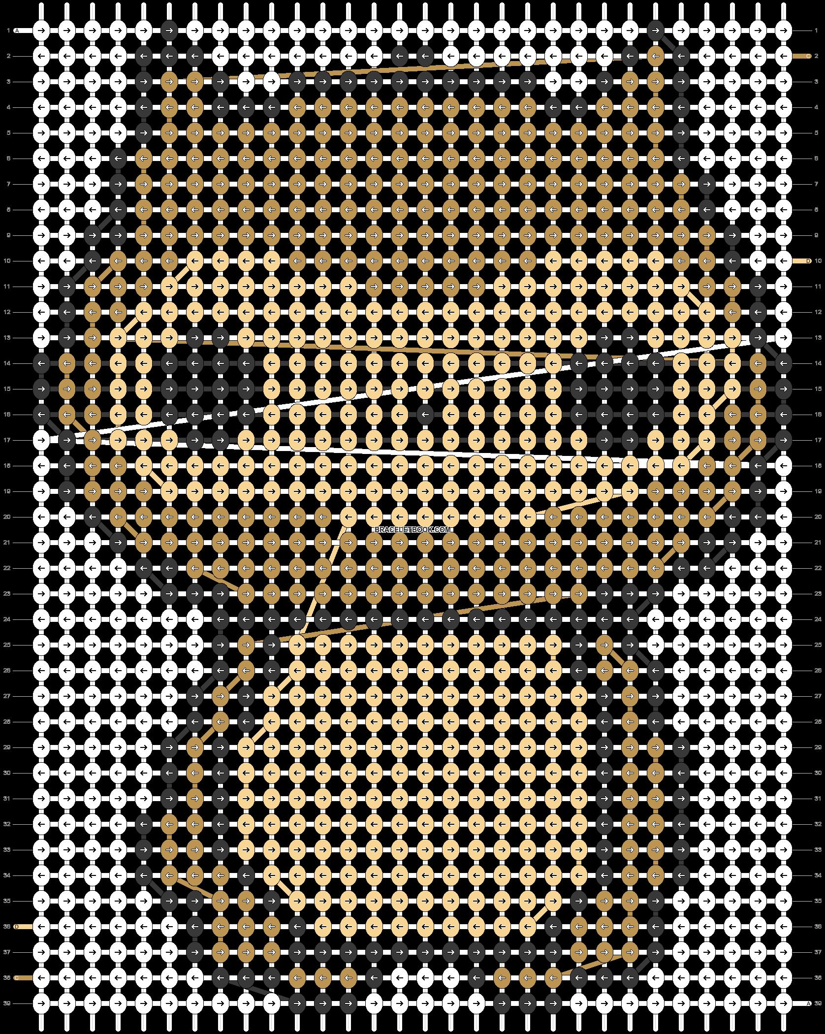 Alpha pattern #5557 pattern
