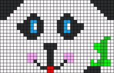 Alpha pattern #5560