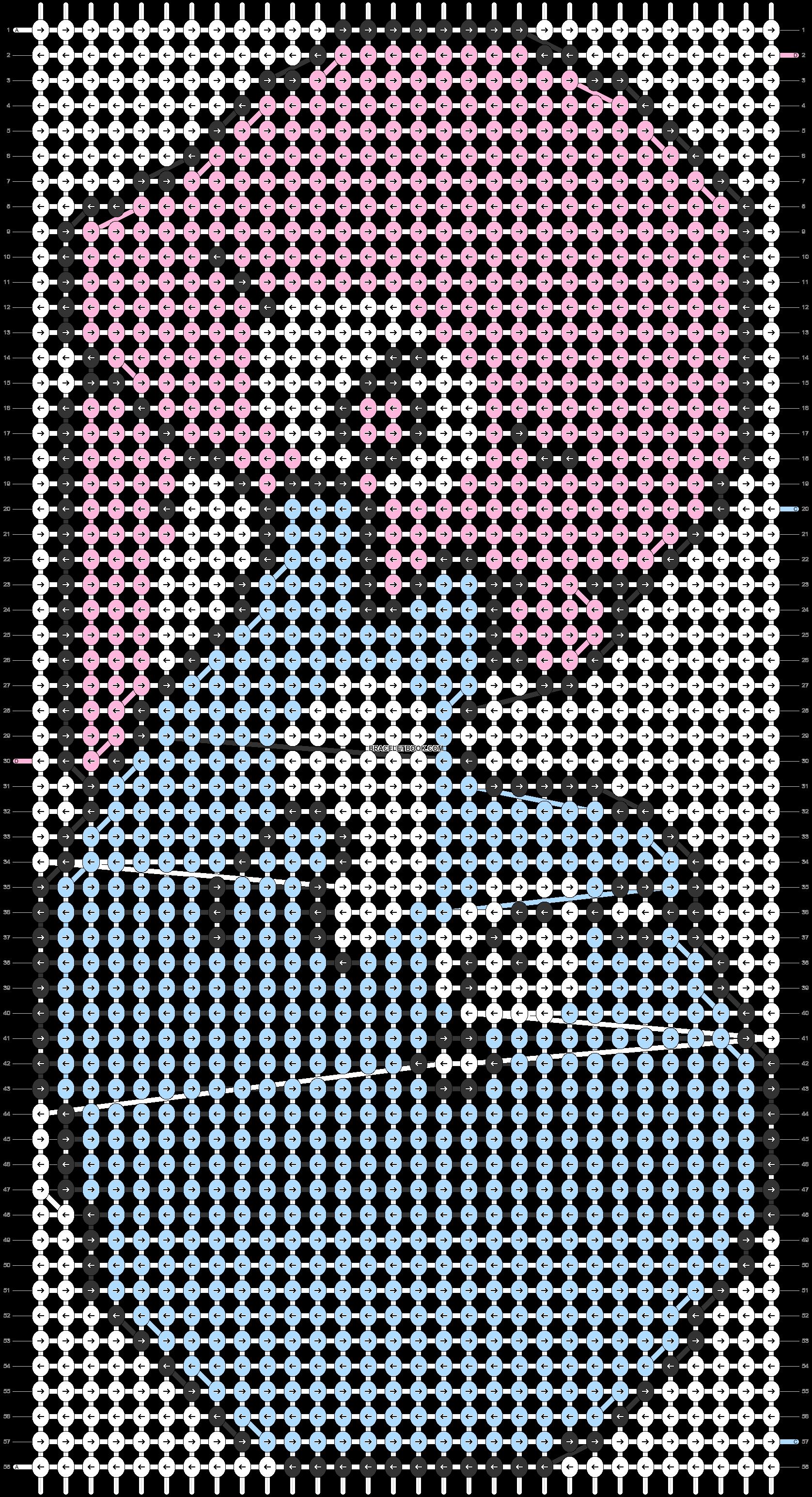 Alpha pattern #5566 pattern