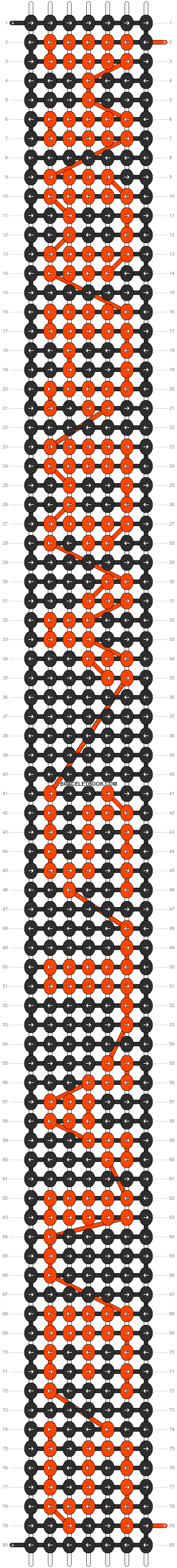 Alpha pattern #5574 pattern