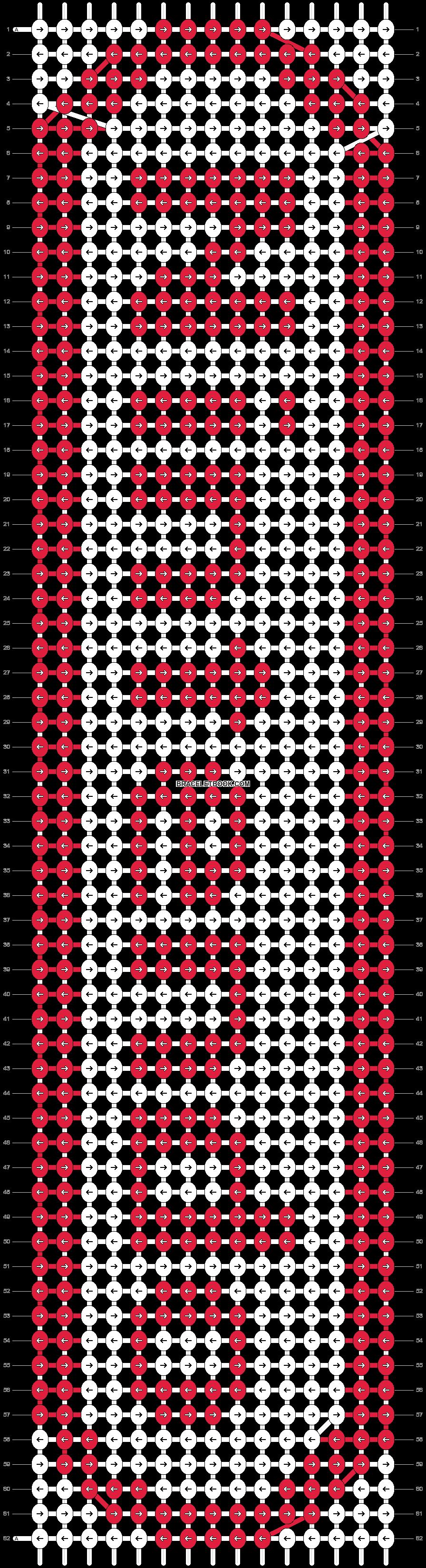 Alpha pattern #5577 pattern