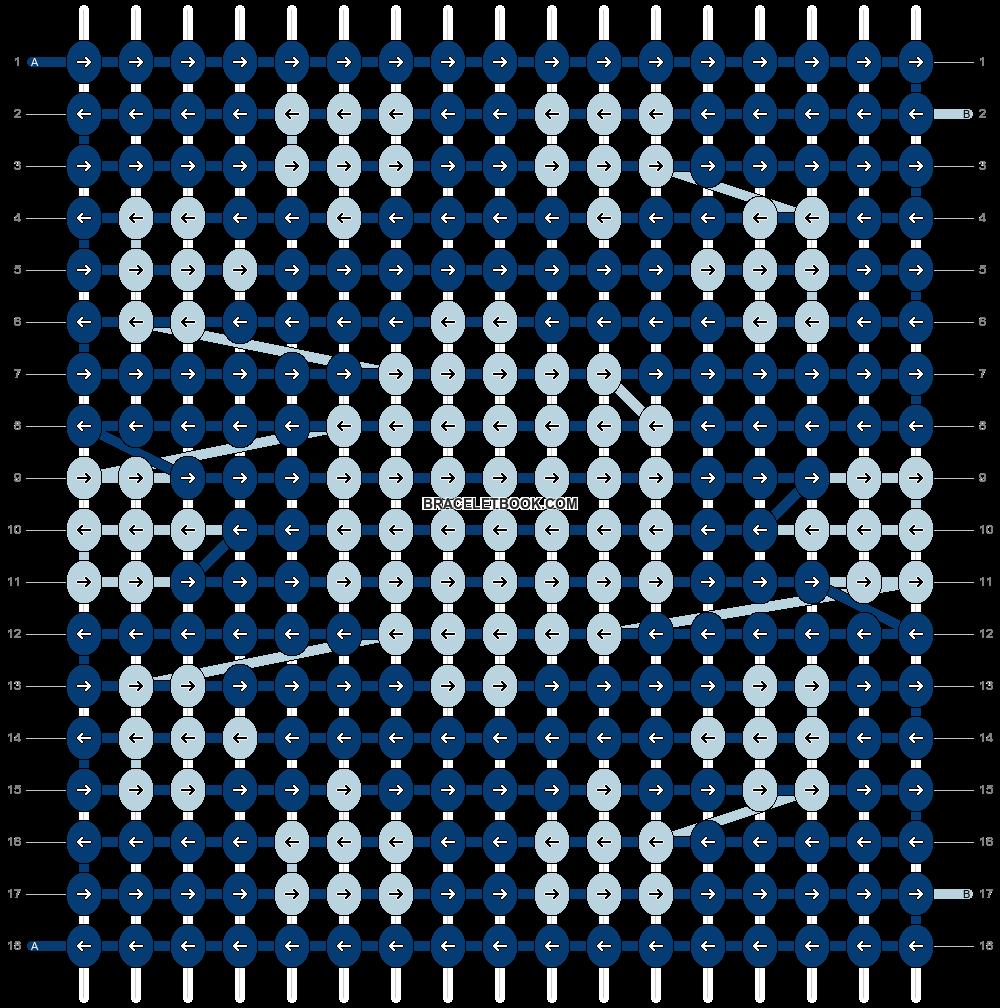 Alpha pattern #5579 pattern
