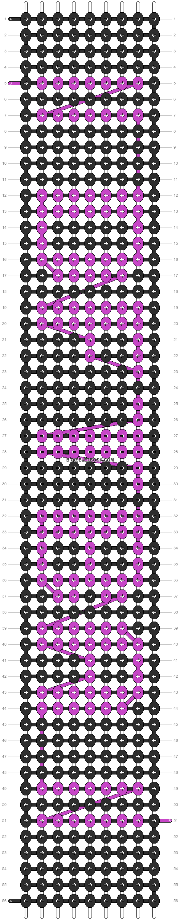 Alpha pattern #5580 pattern