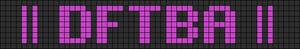Alpha Friendship Bracelet Pattern #5580