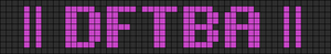 Alpha pattern #5580
