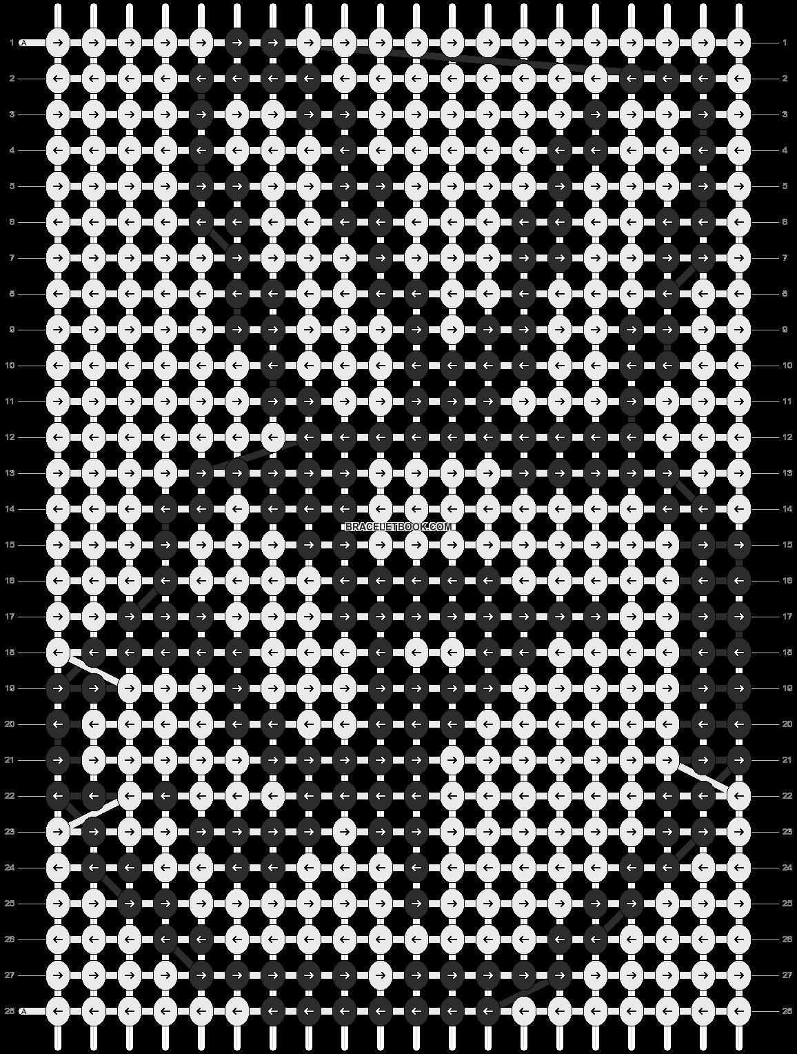 Alpha pattern #5581 pattern