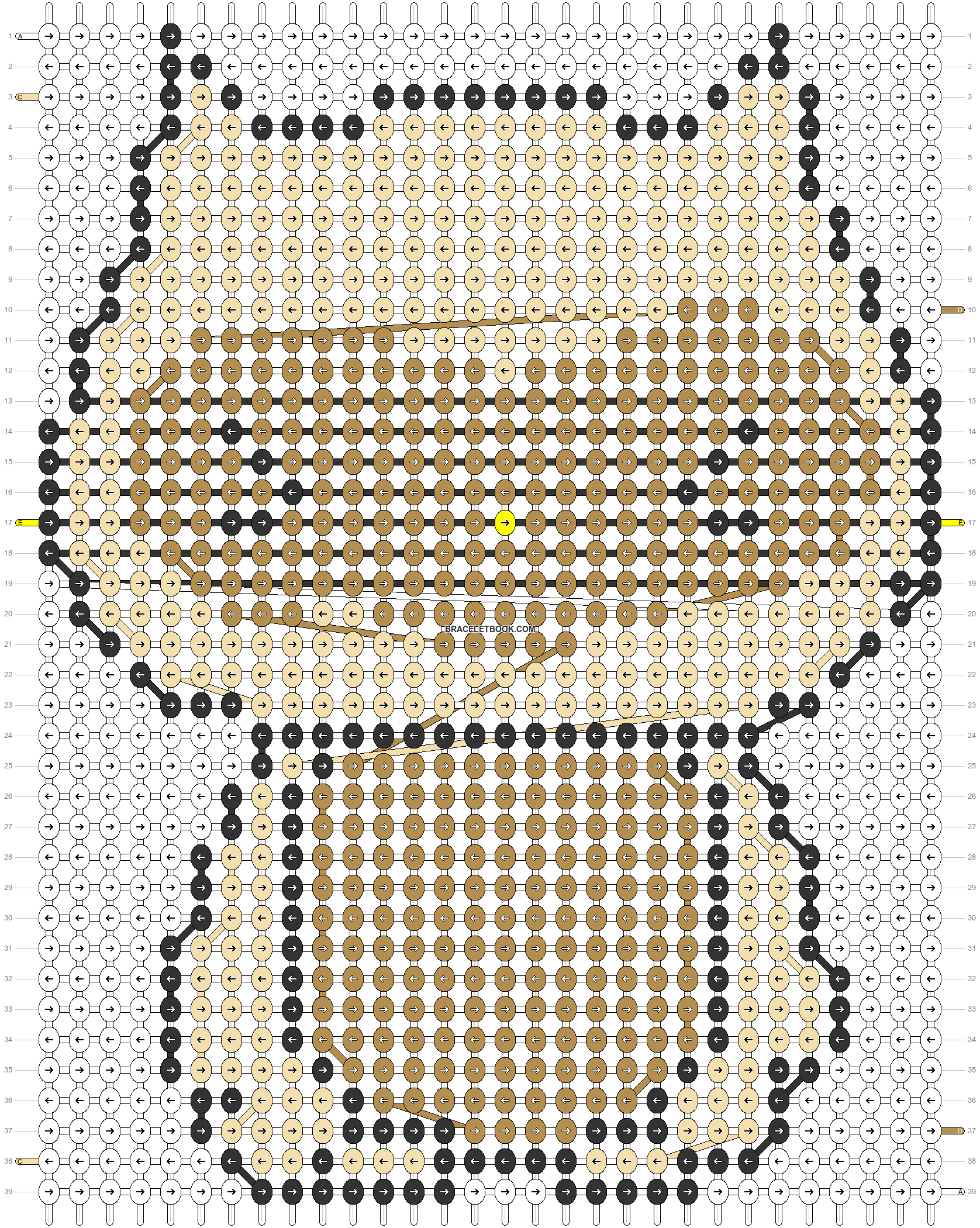 Alpha pattern #5585 pattern