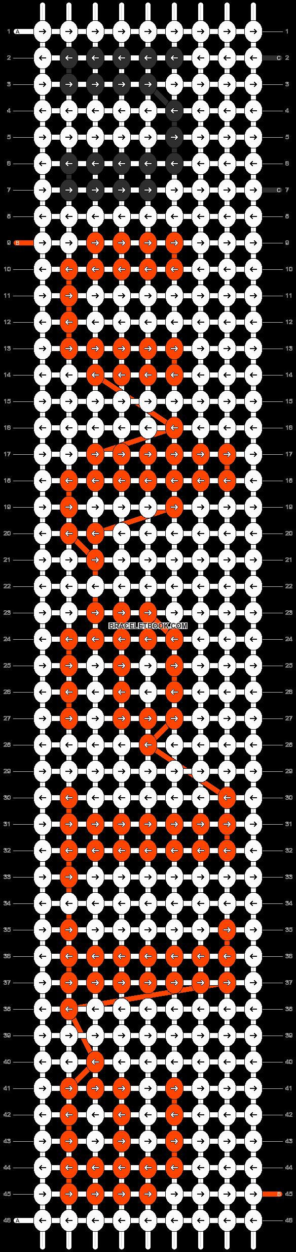 Alpha pattern #5600 pattern