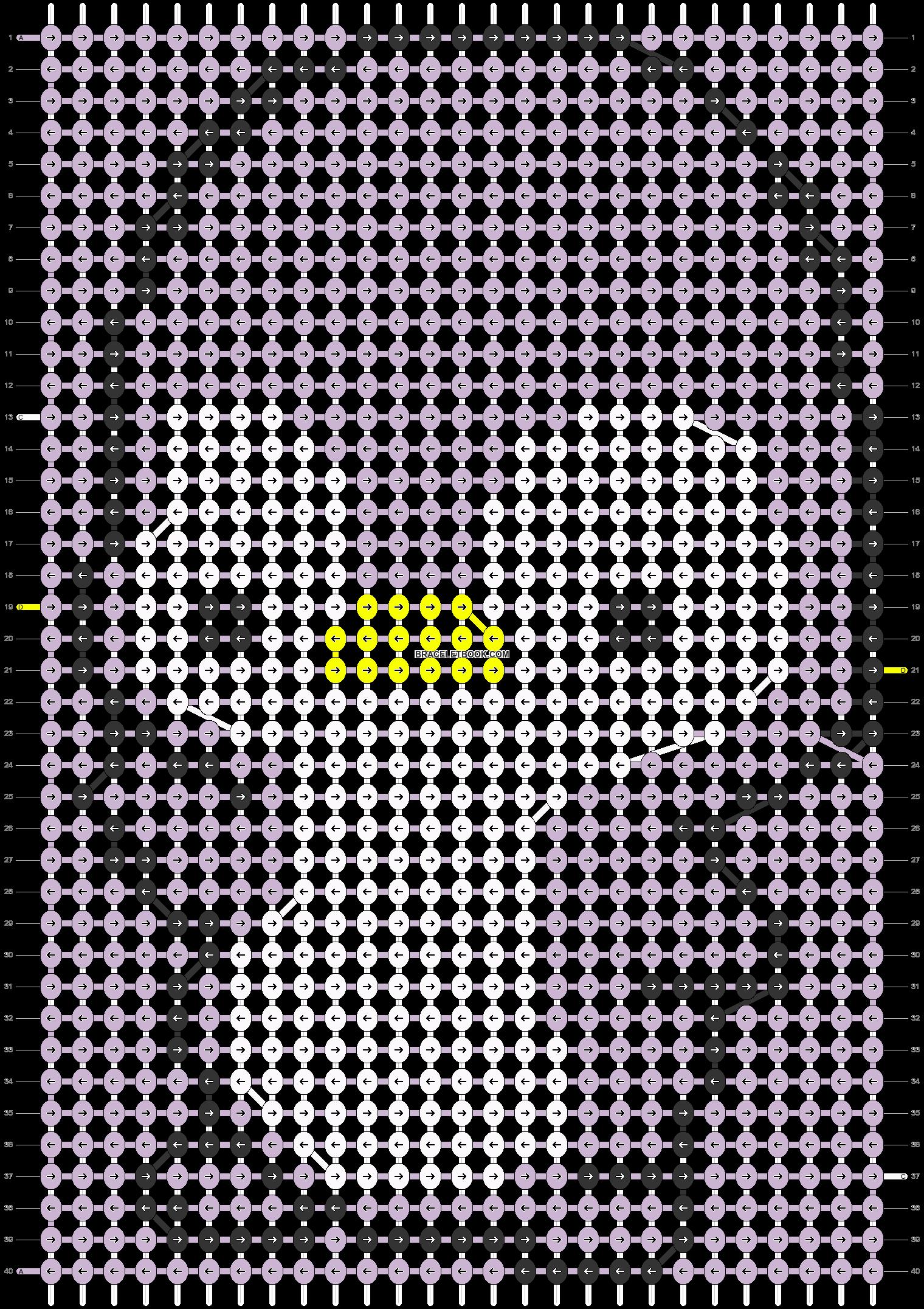 Alpha pattern #5602 pattern