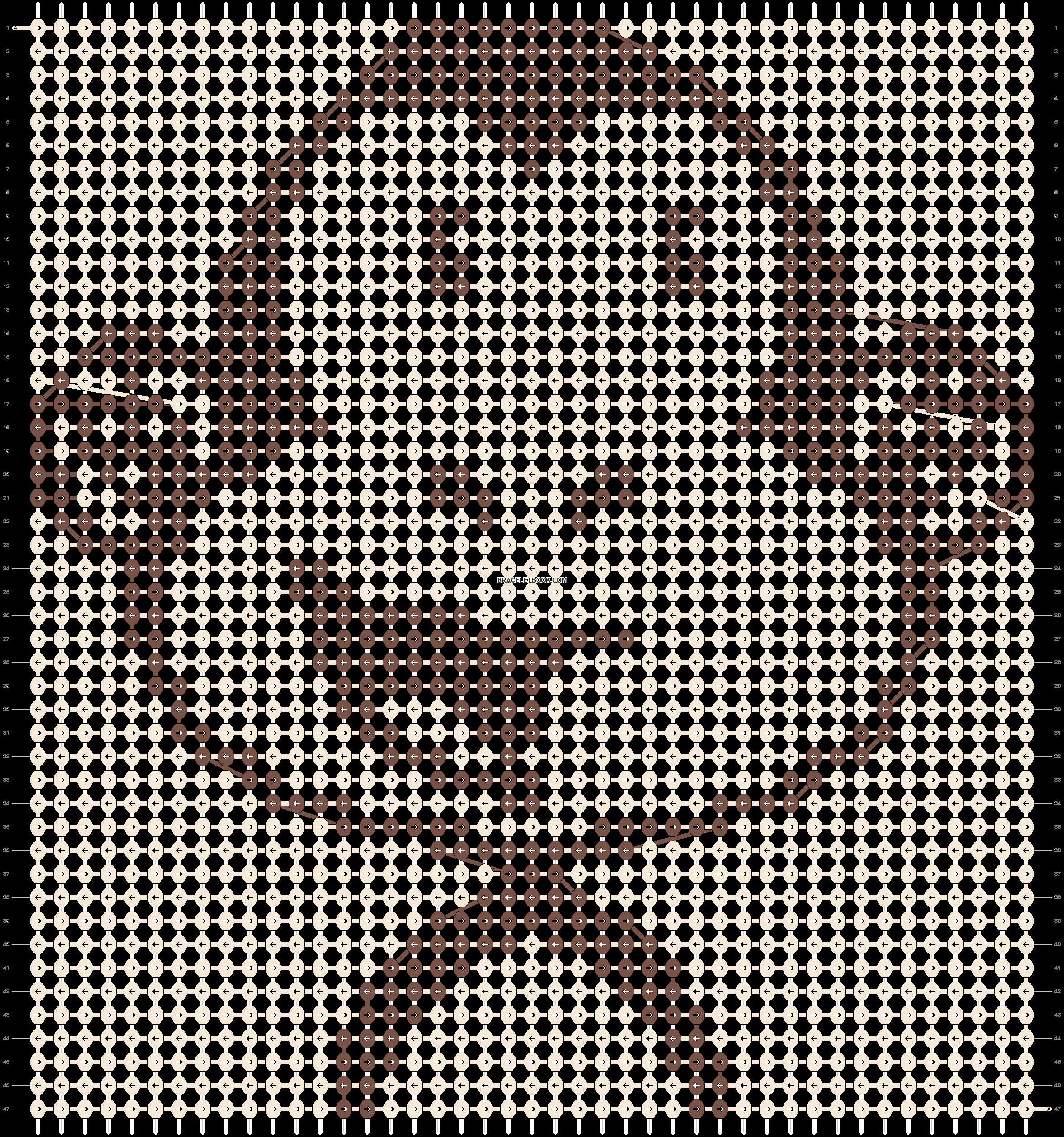 Alpha pattern #5607 pattern