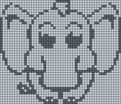 Alpha pattern #5614