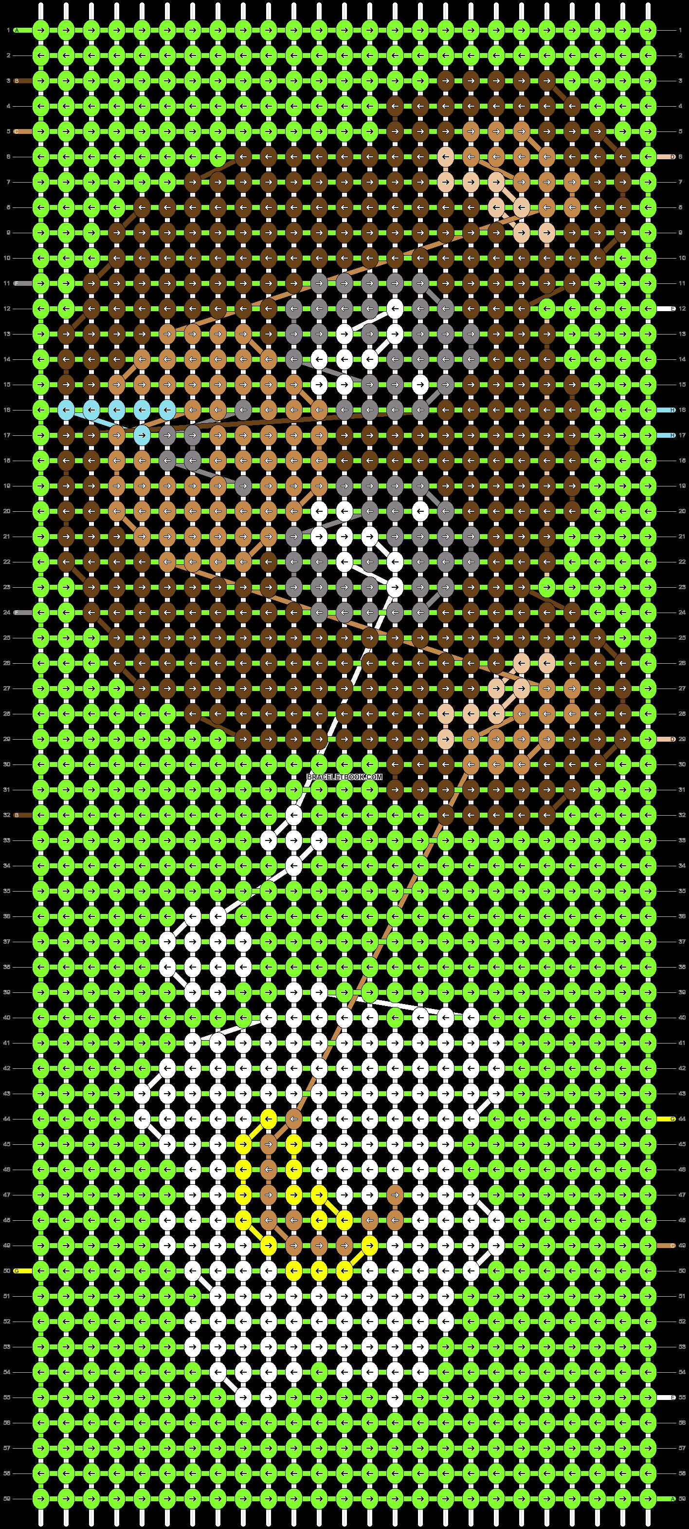 Alpha pattern #5616 pattern