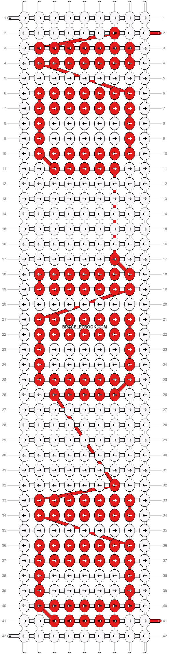 Alpha pattern #5629 pattern