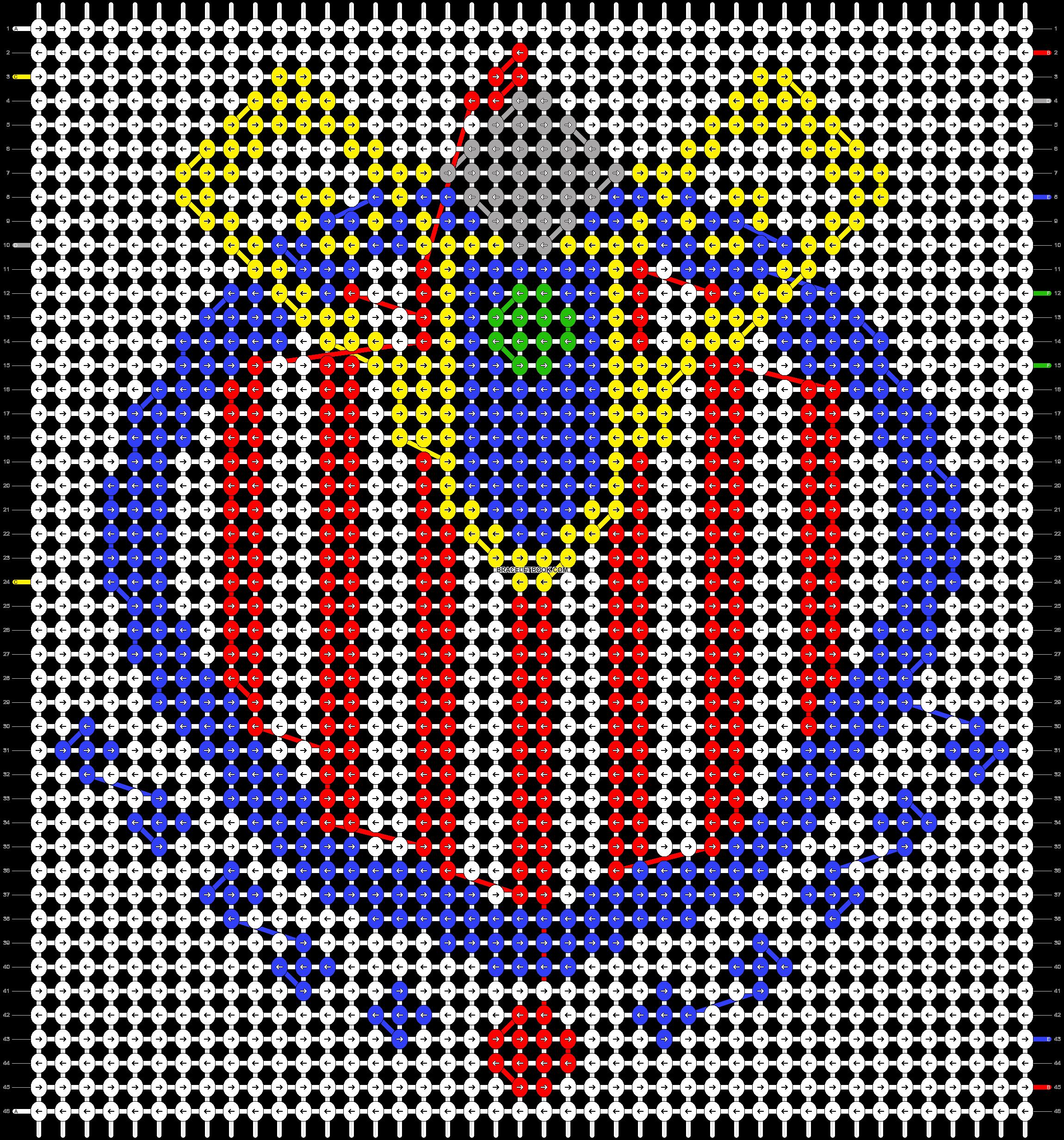 Alpha pattern #5630 pattern
