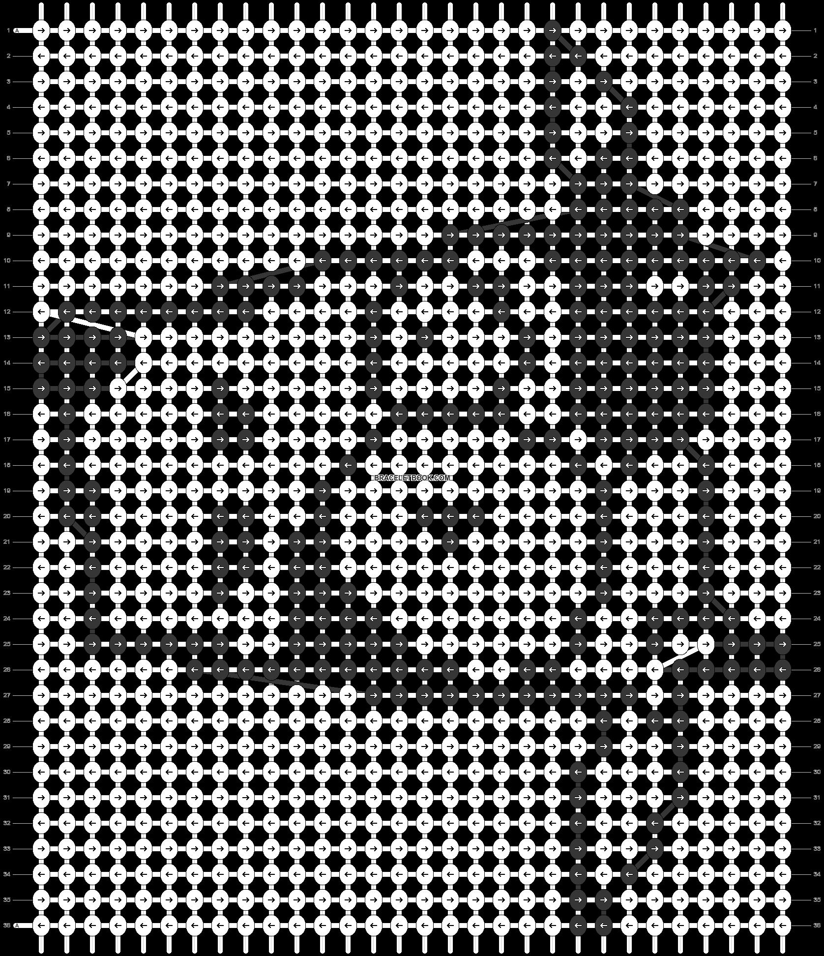 Alpha pattern #5632 pattern
