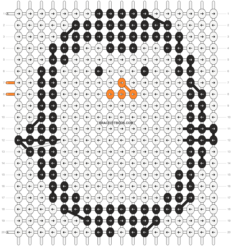 Alpha pattern #5633 pattern