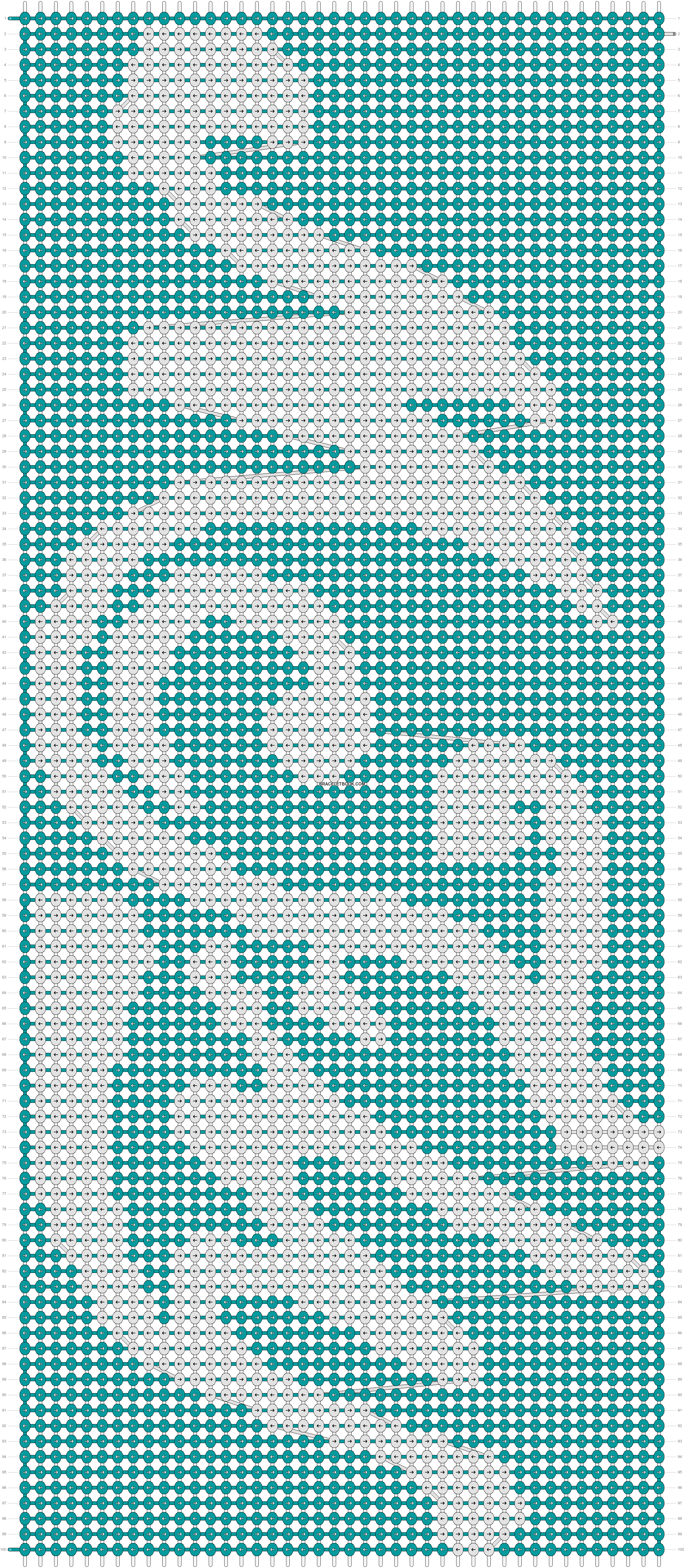 Alpha pattern #5645 pattern