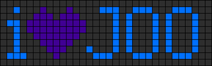 Alpha pattern #5647