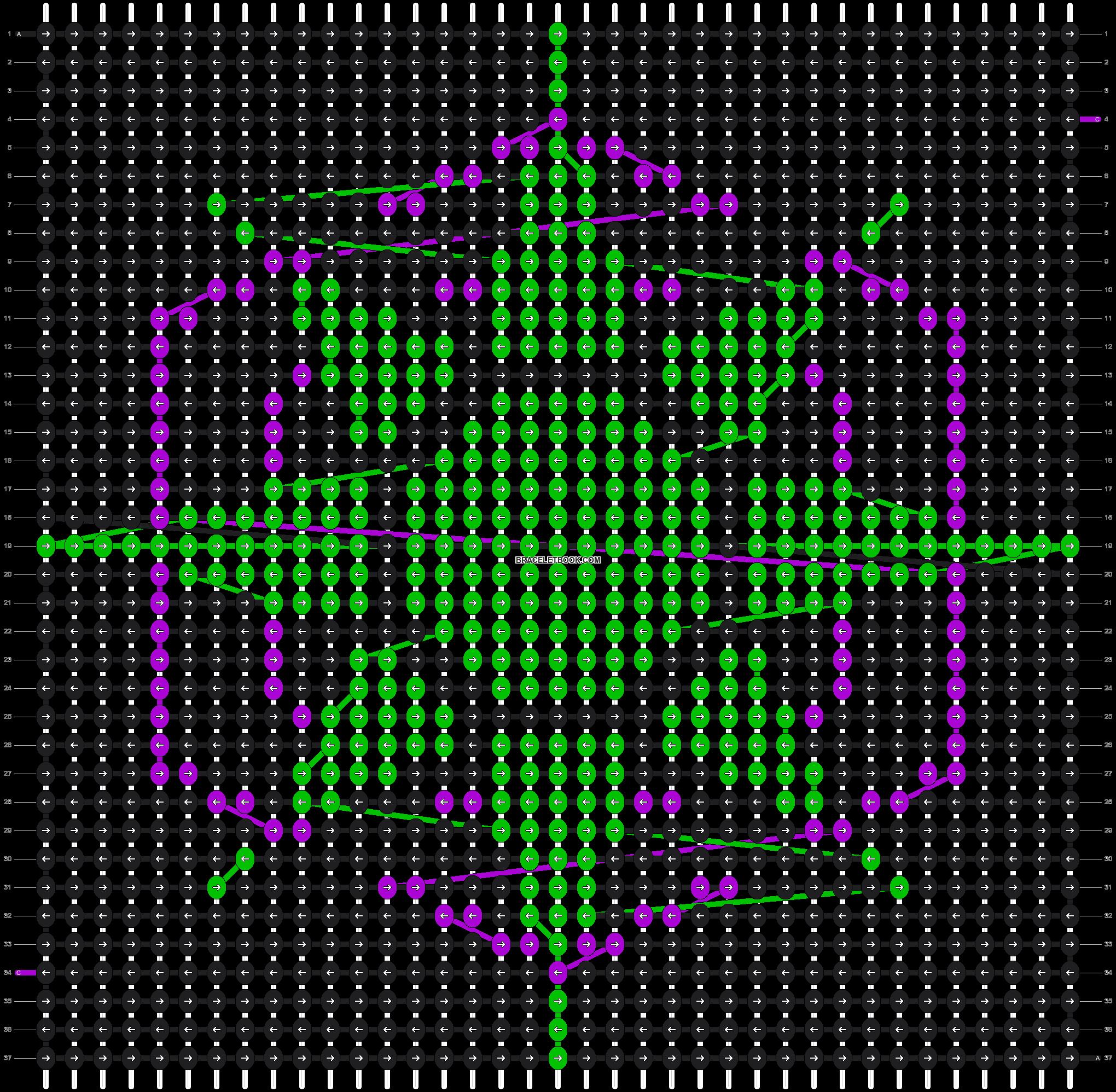 Alpha pattern #5650 pattern