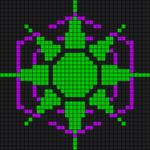 Alpha Friendship Bracelet Pattern #5650