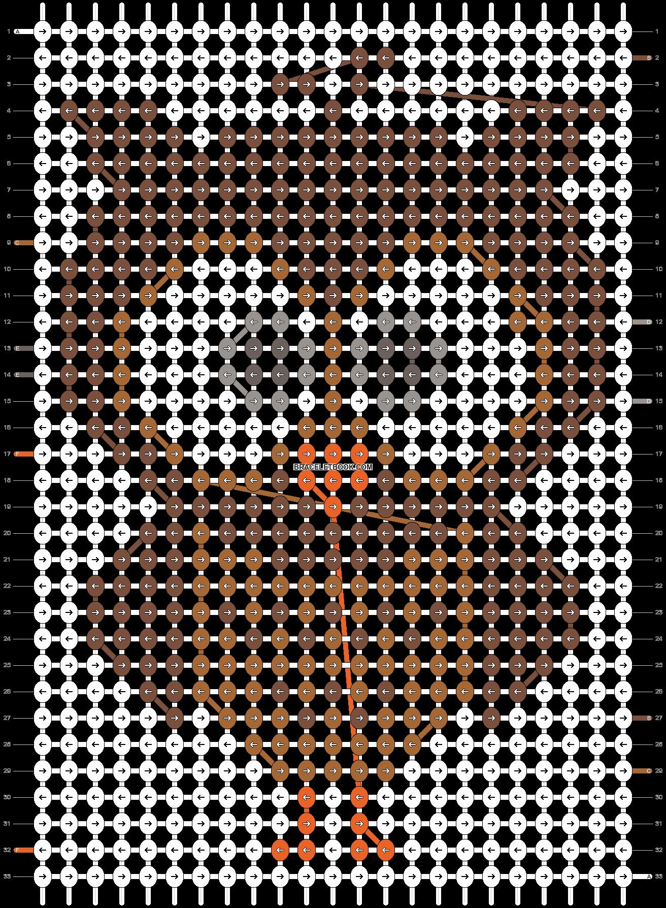 Alpha pattern #5652 pattern