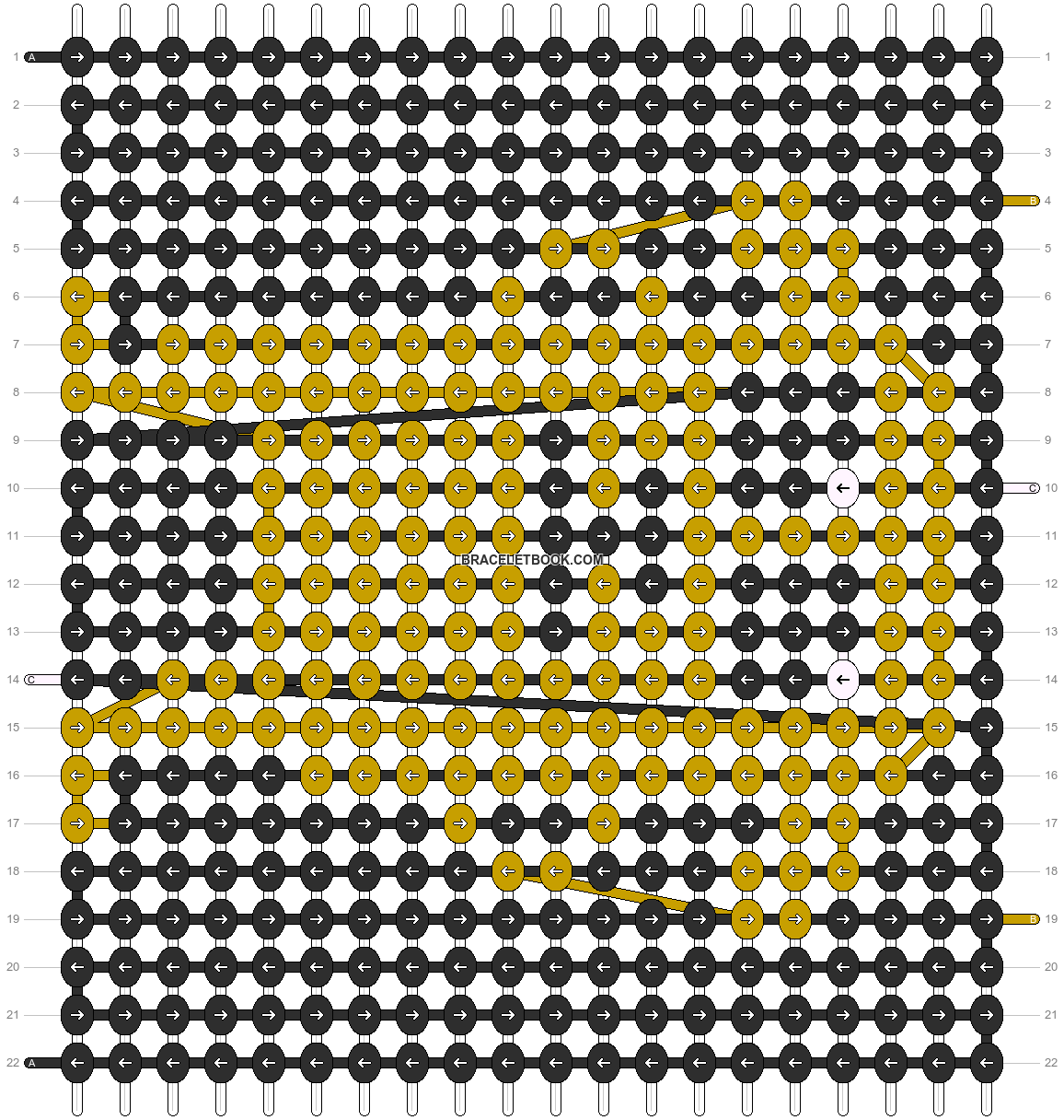 Alpha pattern #5655 pattern