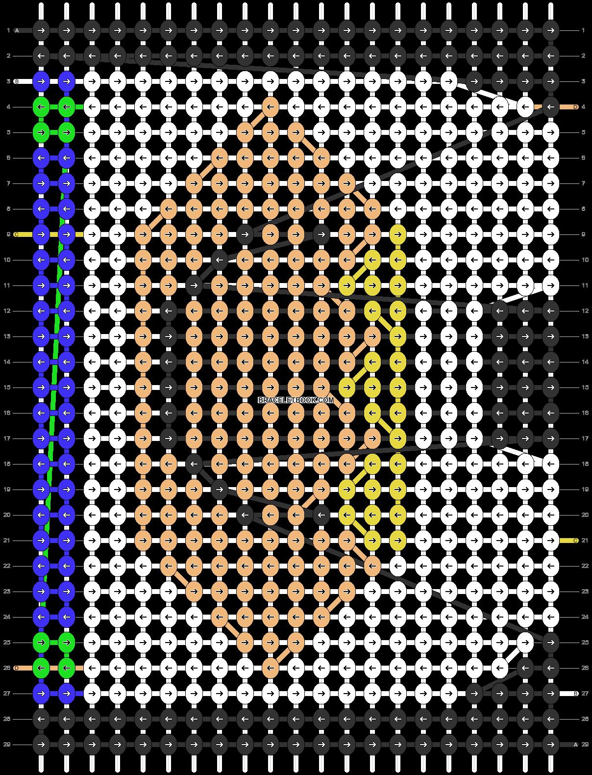 Alpha pattern #5656 pattern