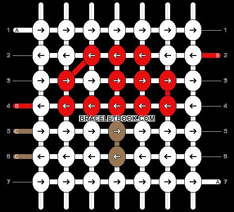Alpha pattern #5666 pattern