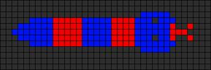 Alpha pattern #5667